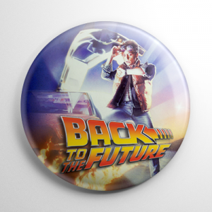 Back to the Future Button