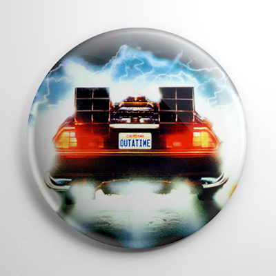 Back to the Future OutaTime Button