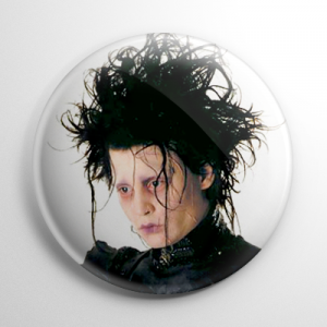 Edward Scissorhands (B) Button