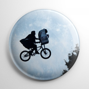 E.T. The Extra-Terrestrial (A) Button