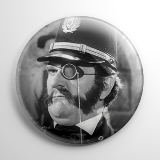 Young Frankenstein - Inspector Kemp Button