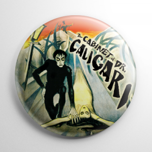 The Cabinet of Dr. Caligari Button