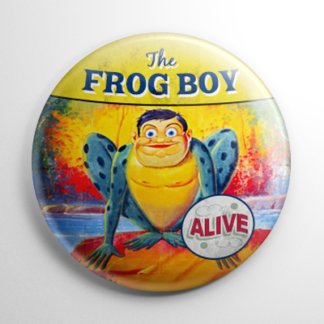 Sideshow - Frog Boy Button