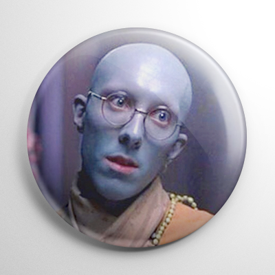 Dawn of the Dead Krishna Zombie Button