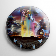 Nightmare on Elm Street 4: The Dream Master Button