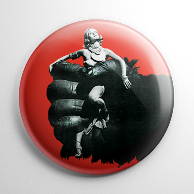 King Kong 1976 (A) Button