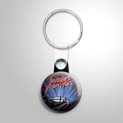 Science Fiction - Invaders from Mars (A) Keychain