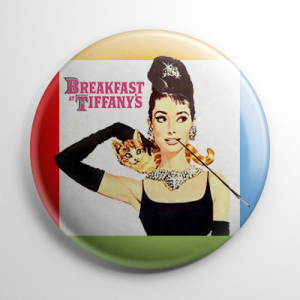 Breakfast at Tiffany's Button