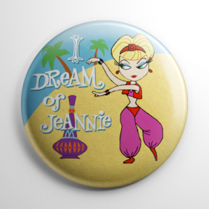 I Dream of Jeannie Button