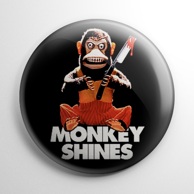 Monkey Shines Button