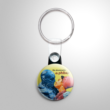 Horror - Abominable Dr. Phibes Button/Keychain