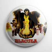 Blacula (B) Button