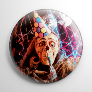 Bloody New Year Button