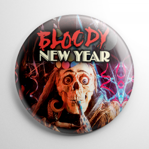 Bloody New Year (B) Button