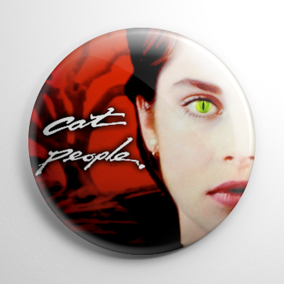 Cat People Button