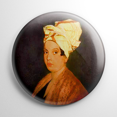 Marie Laveau Voodoo Queen Button