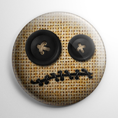 Voodoo Doll Button
