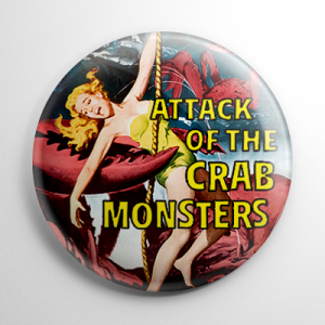 Attack of the Crab Monsters Button