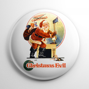 Christmas Evil Button