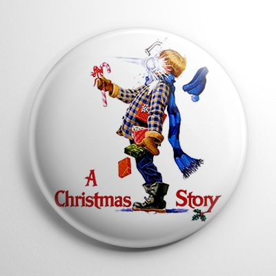 A Christmas Story Button