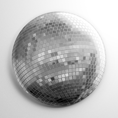 Disco Ball Button