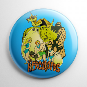 Herculoids Button