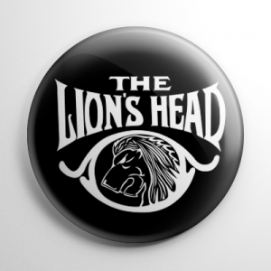 Invisible Man Lion's Head Pub Button