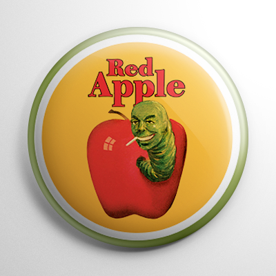 Red Apple Cigarettes Button