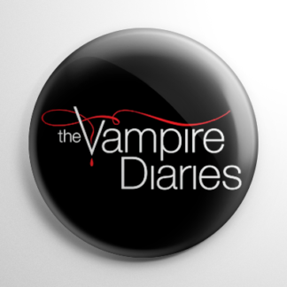 Vampire Diaries Button