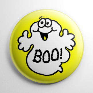 Boo Ghost Button