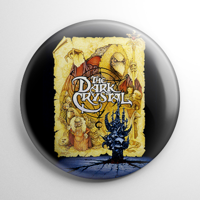 Dark Crystal Button