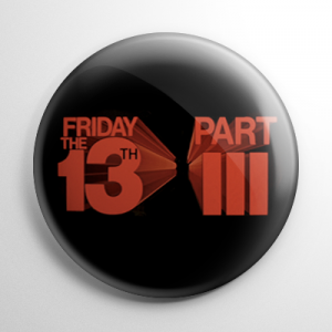 Friday the 13th 3D Button