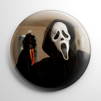 Scream Ghostface Killer Button
