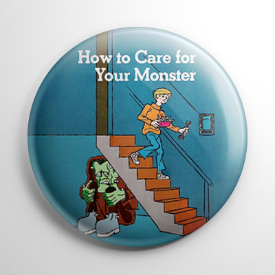 How to Care for Your Monster Button