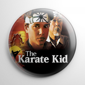 Karate Kid Button
