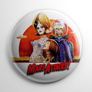 Mars Attacks (B) Button