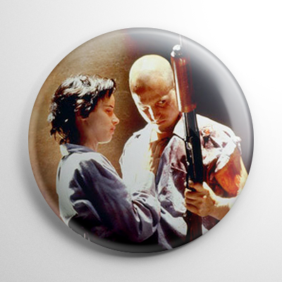Natural Born Killers Mickey and Mallory Button