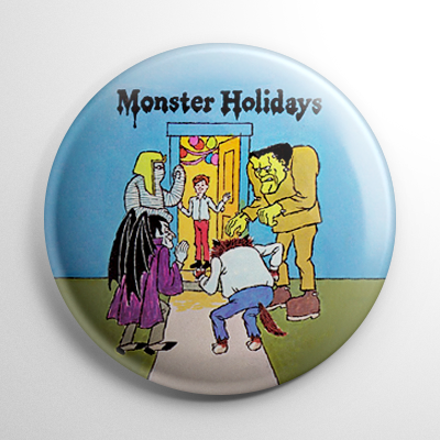 Monster Holidays Button