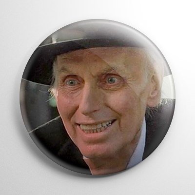Poltergeist II Reverend Kane Button