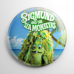 Sigmund and the Sea Monsters Button