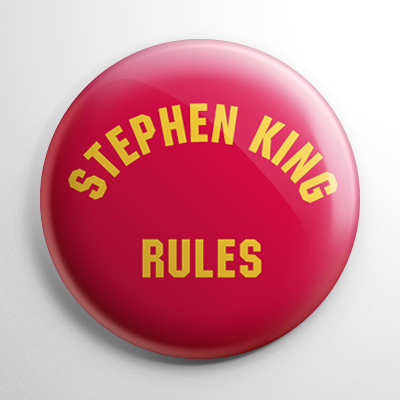 Monster Squad Stephen King Rules Button