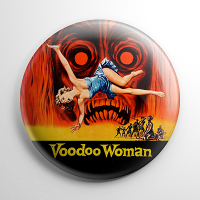 Voodoo Woman Button