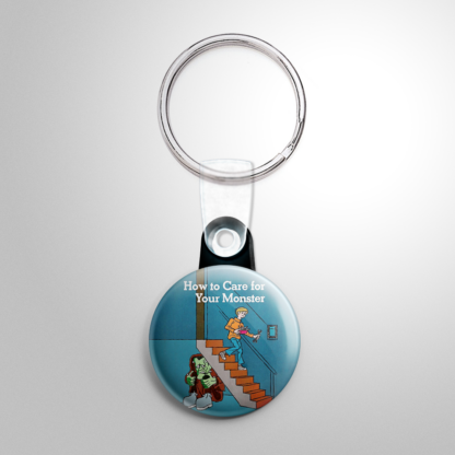 Vintage Halloween - How to Care for Your Monster Book Keychain