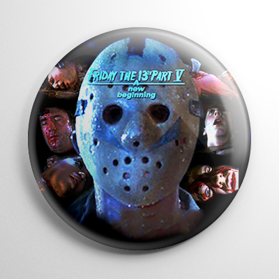 Friday the 13th A New Beginning (A) Button