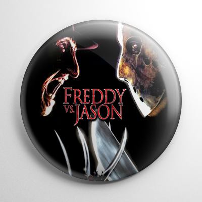 Freddy vs. Jason Button