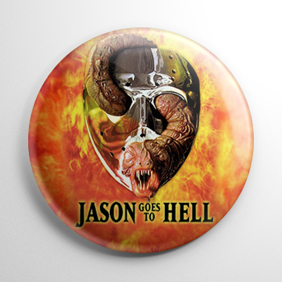 Friday the 13th Jason Goes to Hell Button