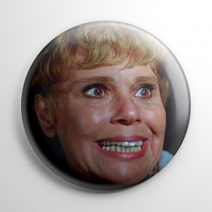 Friday the 13th Pamela Voorhees Button