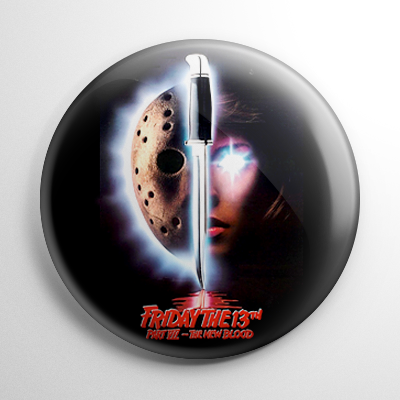 Friday the 13th The New Blood Button