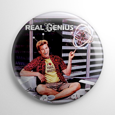 Real Genius Button