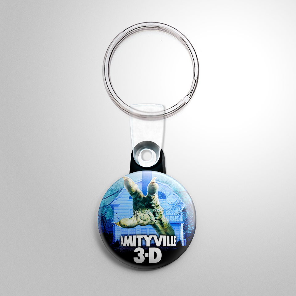 Horror Amityville Iii The Demon Button Keychain Horrorbuttons Com